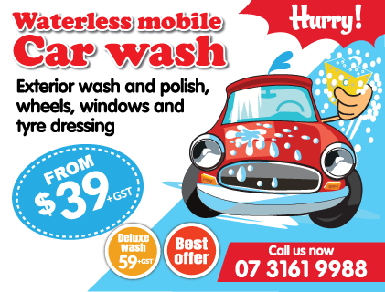 Bribane carwash just $39
