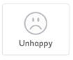 smily unhappy