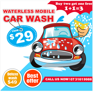 waterless mobile carwash brisbane